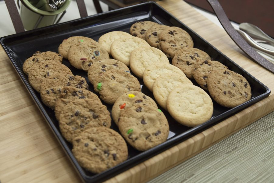 platter of cookies from Housing Open House