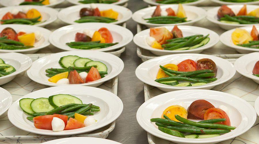 Vegetable plates