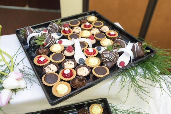 A variety of desserts are available for your event.