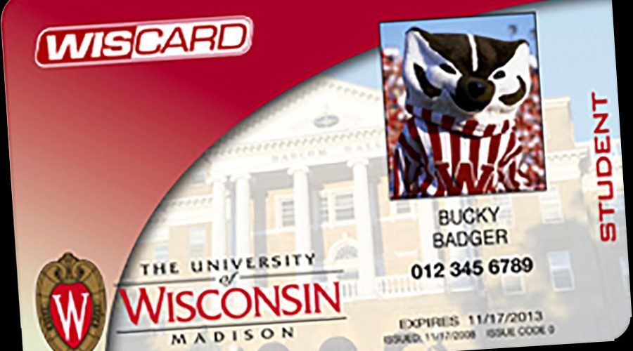 Wiscard for Bucky Badger