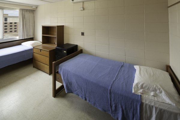Another view of guest accommodations in Witte Hall.