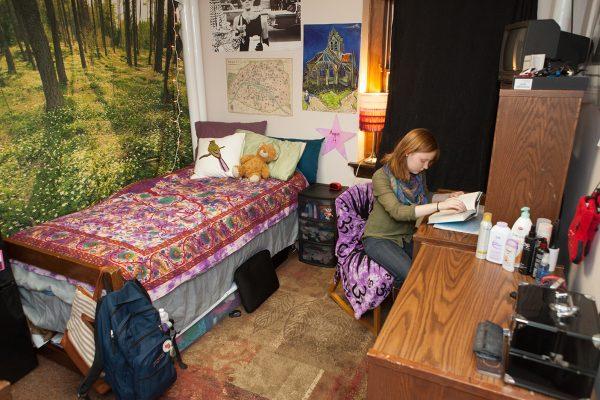 Best Room Contest finalist's room in Adams Hall