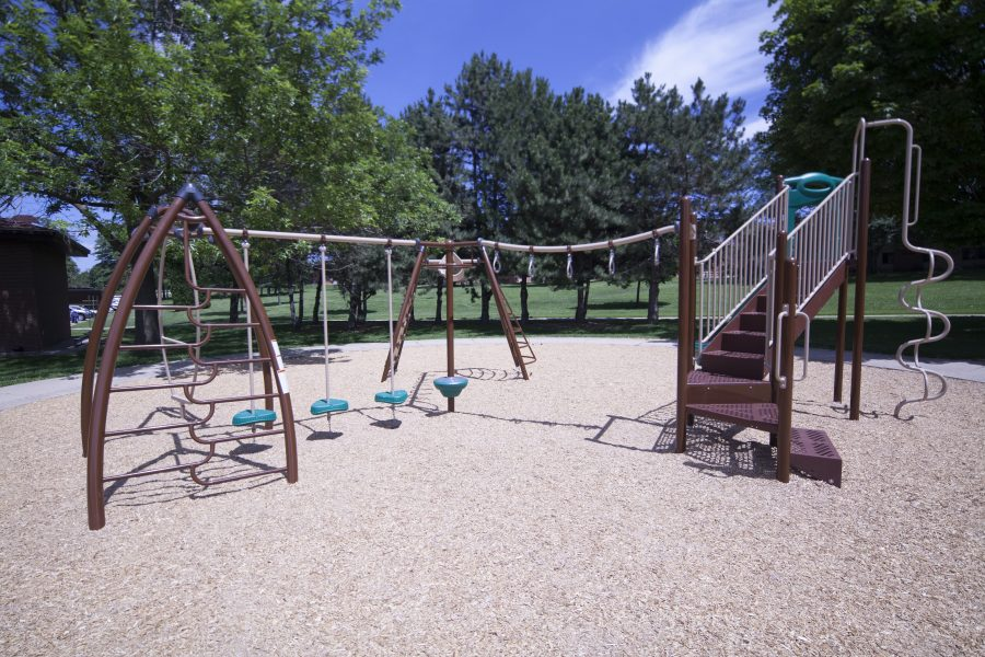 Play area in Eagle Heights.