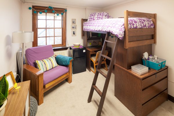 Best Room Contest finalist's room in Tripp Hall