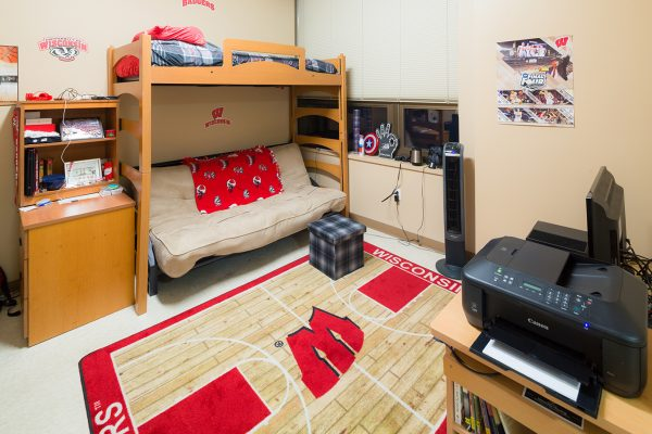 Best Room Contest finalists' room in Smith Hall