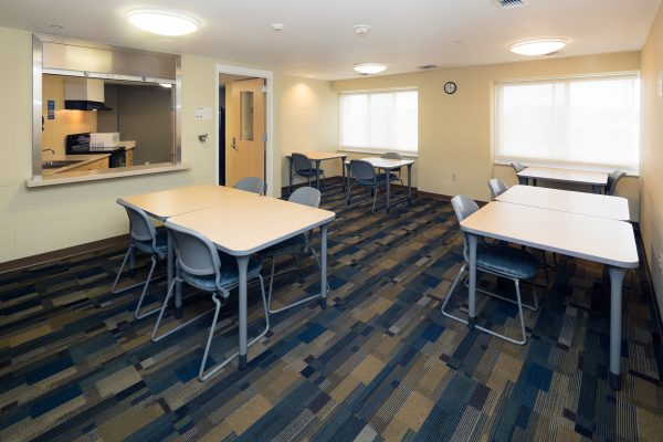 Chadbourne Hall resident lounge