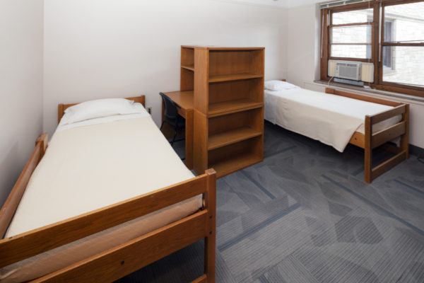 Guest accommodations in Slichter Hall.