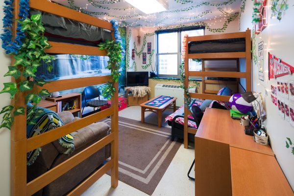 Best Room Contest finalists' room in Ogg Hall