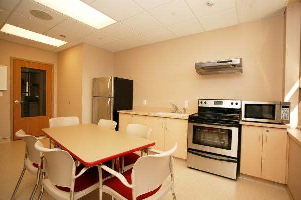 A kitchen in Smith Hall.