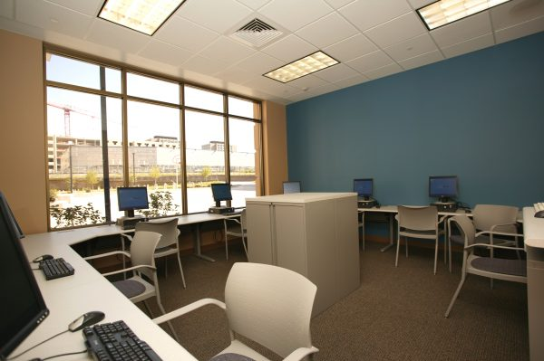 Computer lab in Smith Hall.