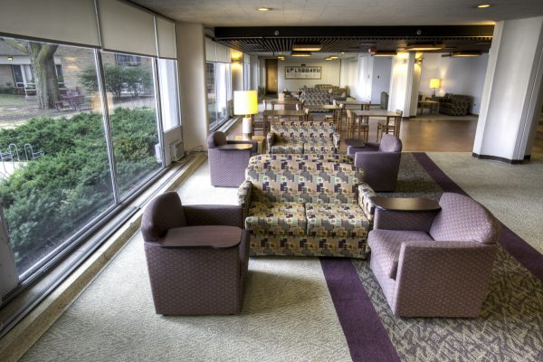 Sellery Hall main lounge.