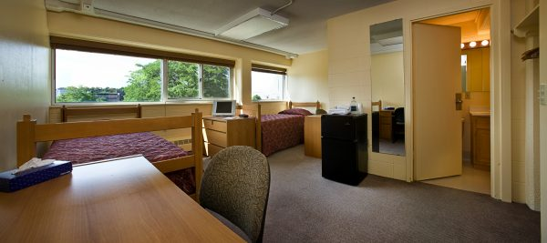 Phillips Hall guest accommodations.