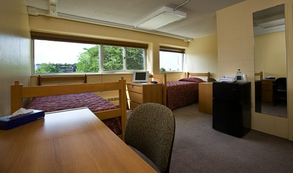Another view of guest accommodations in Phillips Hall.