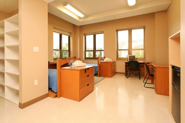 Another view of guest accommodations in Smith Hall.
