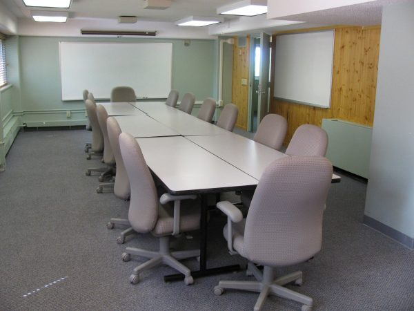 Classroom in Phillips Hall.