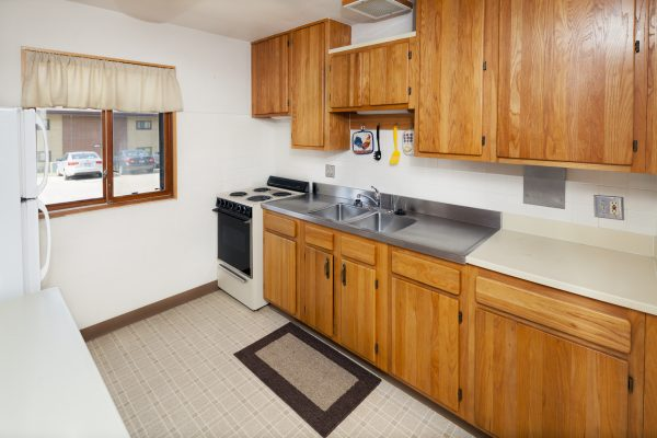 Kitchen in an apartment in Eagle Heights.