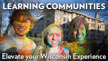 Learning Communities - Elevate your Wisconsin Experience