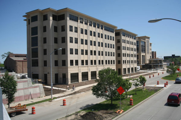 Smith Residence Hall construction in 2006