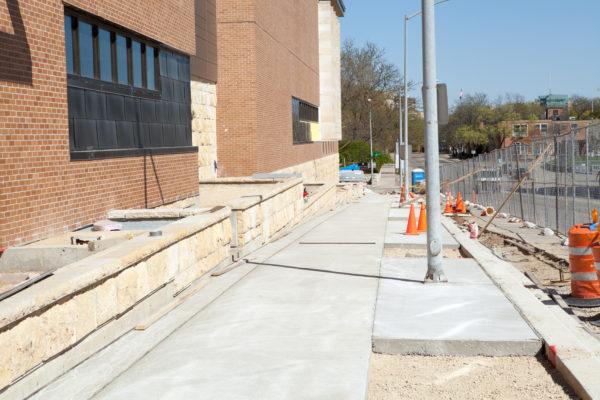 Gordon Commons Construction 2012