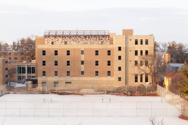 Leopold Residence Hall Construction University Housing