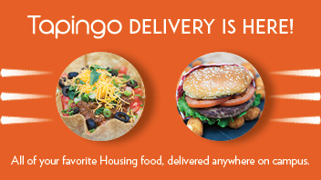 Tapingo delivery is here!