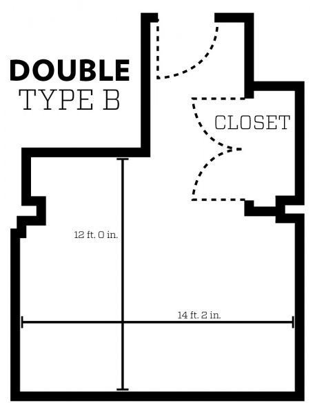 Smith Double Type B Dimensions