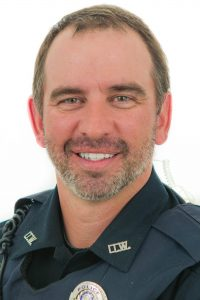 Officer Brad Davis portrait